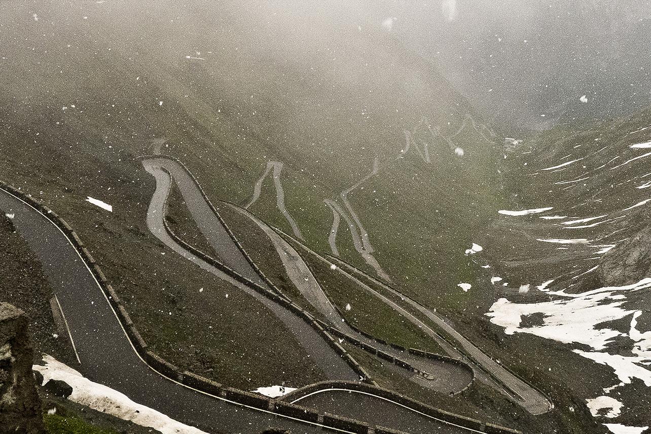 Stelvio Pass, Dolomites