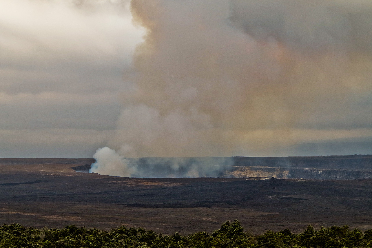 Halemaumau Crater, Big Island.