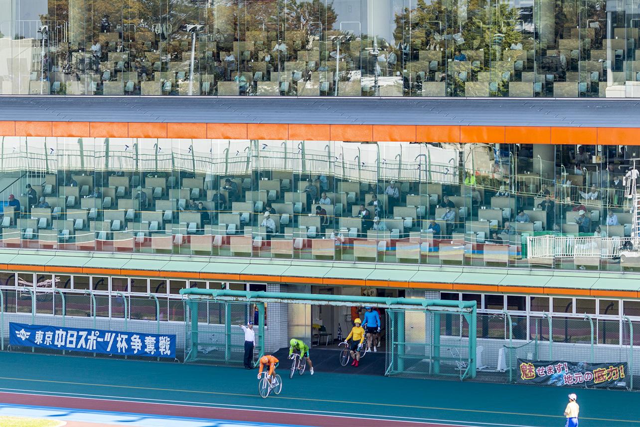 The Tachikawa Velodrome, Japan