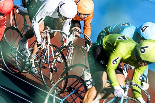 Photostory: Keirin track race, Japan