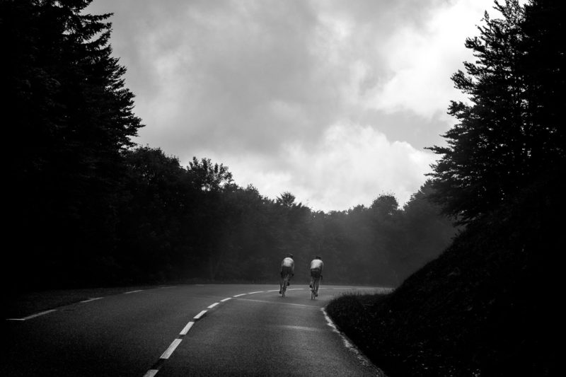 Road biking in the Vosges