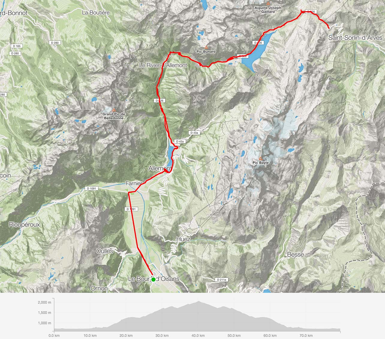 Tour 1 – Col du Glandon, Col de la Croix de Fer