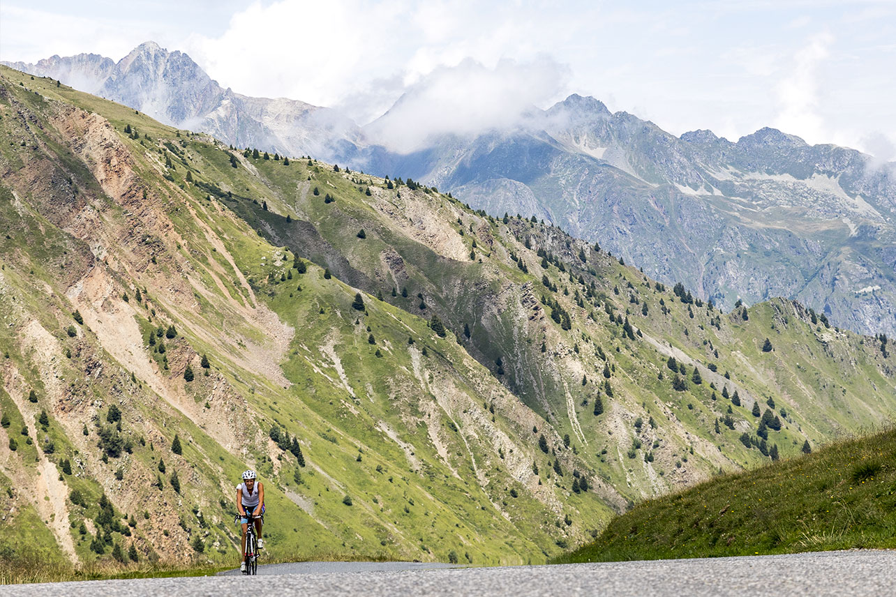 View from the Col du Glandon.