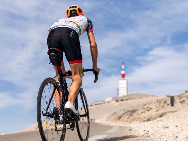 Climbing Mont Ventoux