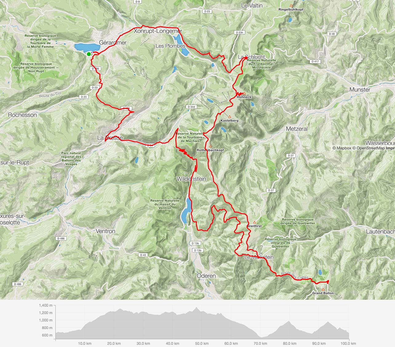 Tour 5 – Vosges – Cool ride through the clouds