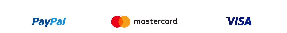 Paypal | Mastercard | VISA