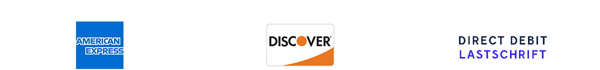 american-express | Discover | Direct Debit